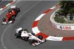 Kamui Kobayashi (Sauber) vor Felipe Massa (Ferrari)