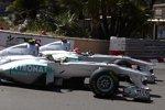 Nico Rosberg und Michael Schumacher (Mercedes)