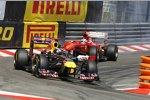 Sebastian Vettel (Red Bull) Fernando Alonso (Ferrari)