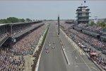 Der Start zum Indy 500