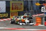 Paul di Resta (Force India) Adrian Sutil (Force India)