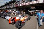 Das spätere Siegerauto von Dan Wheldon