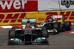 Michael Schumacher (Mercedes) Rubens Barrichello (Williams)