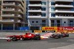 Felipe Massa (Ferrari) Lewis Hamilton (McLaren)