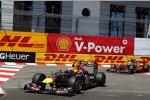 Mark Webber (Red Bull) Lewis Hamilton (McLaren)
