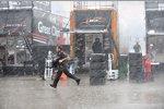 Sintflutartige Regenfälle machten ein Qualifying in Chicago unmöglich