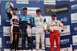 Alain Menu (Chevrolet), Norbert Michelisz (Zengö), Javier Villa (Proteam) und Aleksei Dudukalo (Lukoil-Sunred)