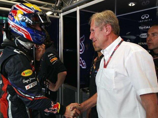 Mark Webber, Helmut Marko (Motorsportchef)
