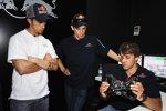Andrea Dovizioso (Honda) und Casey Stoner (Honda)