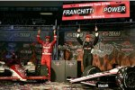 Dario Franchitti (Ganassi) Will Power (Penske)