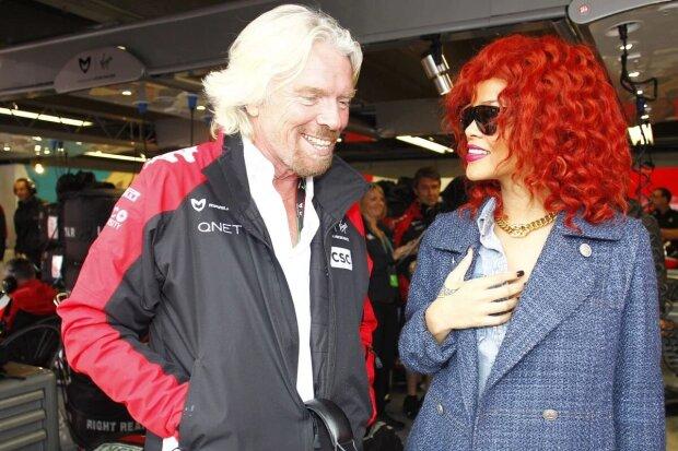 ~Sir Richard Branson und Rihanna~