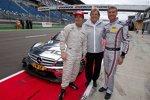 Nicky Hayden, Mercedes-Sportchef Norbert Haug, David Coulthard