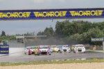 Start zum zweiten Rennen in Tschechien