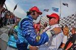 Chip Ganassi gratuliert Dario Franchitti