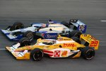 Ryan Hunter-Reay (Andretti) und James Hinchcliffe (Newman/Haas)