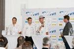 Timo Scheider (Abt-Audi) Jamie Green (HWA-Mercedes) Christian Vietoris