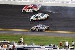 Für Daytona-500-Sieger Trevor Bayne (Wood) war das Rennen früh gelaufen