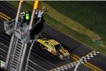 David Ragan (Roush) konnte sich für sein Missgeschick beim Daytona 500 revanchieren - Sieg beim Coke Zero 400