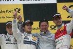 Jamie Green (HWA-Mercedes) Bruno Spengler (HWA-Mercedes) Martin Tomczyk (Phoenix-Audi)
