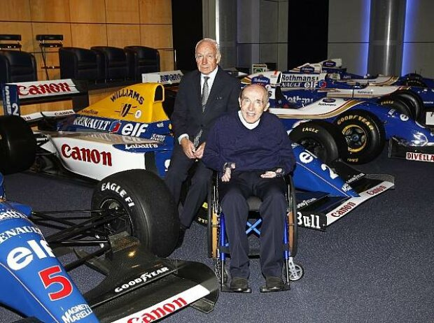 Bernard Rey und Frank Williams