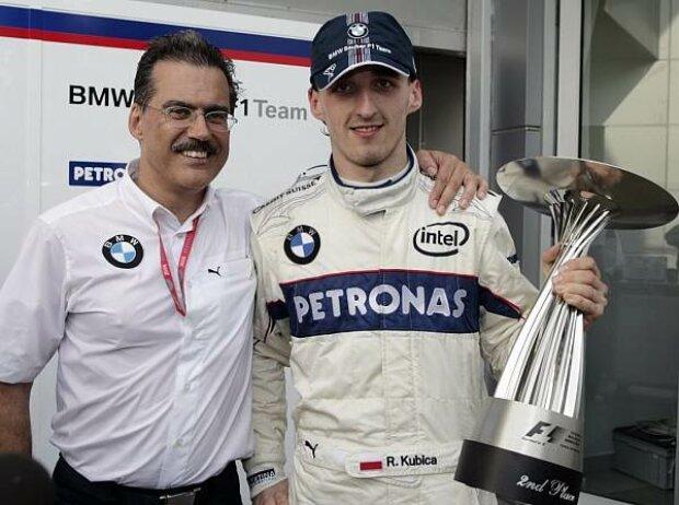 Mario Theissen und Robert Kubica