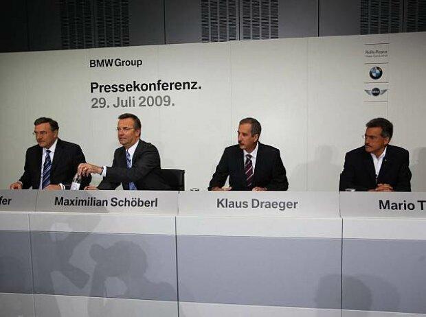 BMW-Pressekonferenz in München