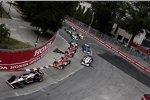 Start zum Honda Indy Toronto mit Will Power (Penske) an der Spitze