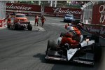 Alex Tagliani (Sam Schmidt) beendete das Rennen in Turn 3