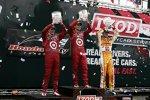 Dario Franchitti gewann in Toronto vor Scott Dixon und Ryan Hunter-Reay