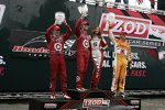 Dario Franchitti gewann in Toronto vor Scott Dixon und Ryan Hunter-Reay