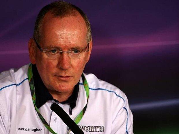 Cosworth-Geschäftsführer Mark Gallagher