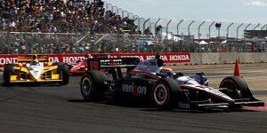 Power bezwingt Castroneves und Franchitti