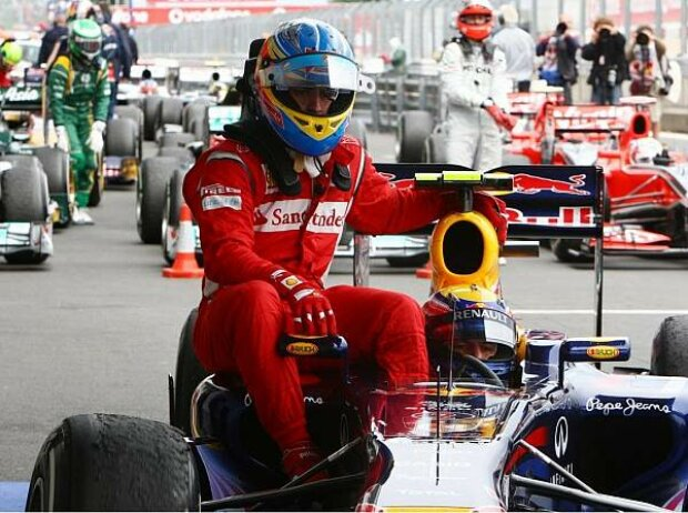 Mark Webber, Fernando Alonso