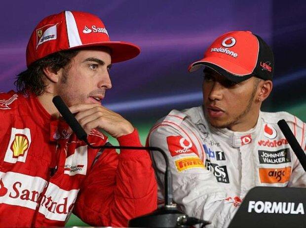 Lewis Hamilton, Fernando Alonso