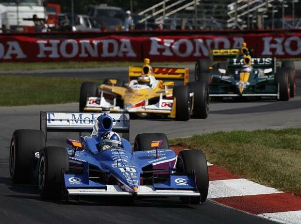 Dario Franchitti, Ryan Hunter-Reay, Takuma Sato