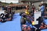 Mark Webber (Red Bull) Sebastian Vettel (Red Bull)