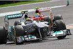 Nico Rosberg (Mercedes) Felipe Massa (Ferrari)