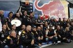 Feiern bei Red Bull