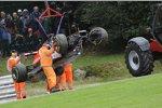 Das Auto von Lewis Hamilton (McLaren)