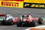 Felipe Massa (Ferrari) und Jenson Button (McLaren)