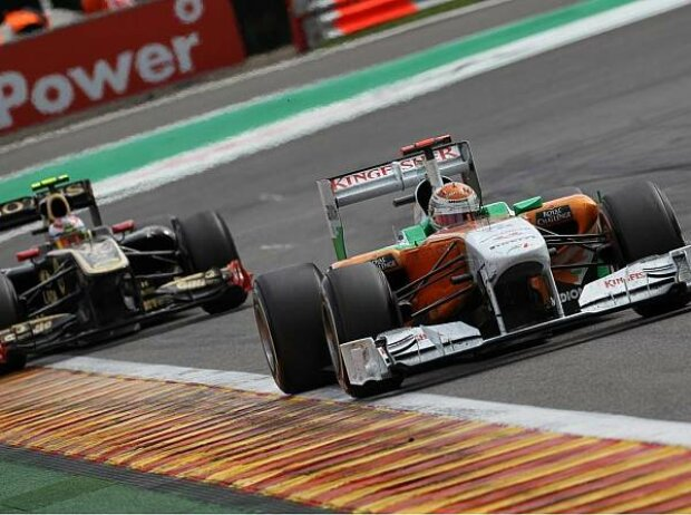 Witali Petrow hinter Adrian Sutil