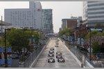 Start zum ersten Baltimore Grand Prix mit Will Power (Penske) und Graham Rahal (Ganassi) an der Spitze
