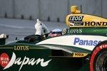 Takuma Sato (KV/Lotus) musste in der vorletzten Runde in Turn 3 aufgeben
