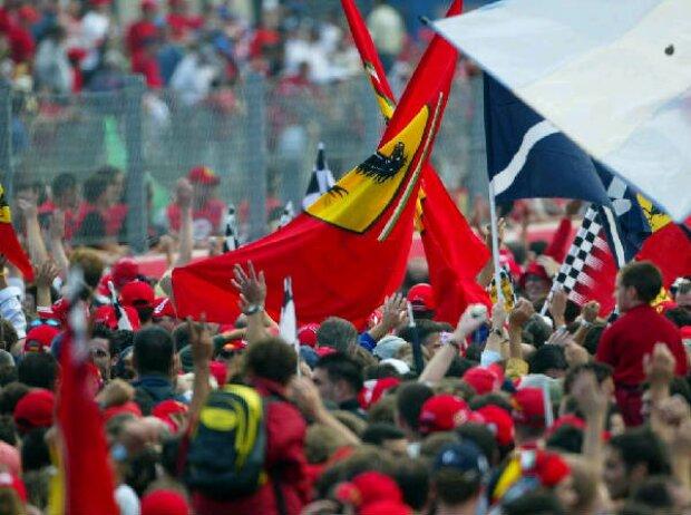 Fans in Italien