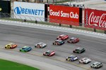 Race Action auf dem Atlanta Motor Speedway