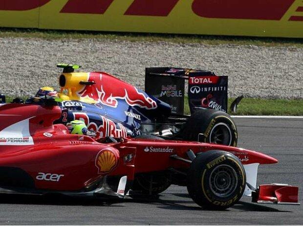 Felipe Massa, Mark Webber