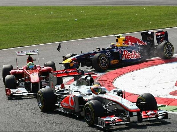 Mark Webber, Felipe Massa