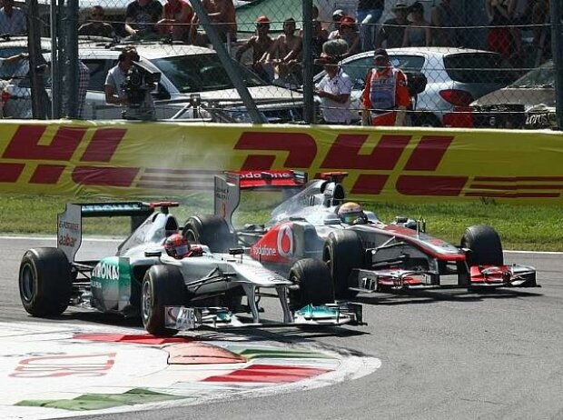 Michael Schumacher, Lewis Hamilton