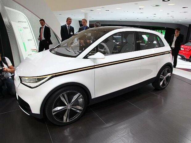 Iaa 2011 Audi Prsentiert Technikstudie A2 Concept