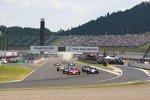 Start zum letzten IndyCar-Rennen in Motegi